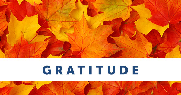Thank You for National Gratitude Month