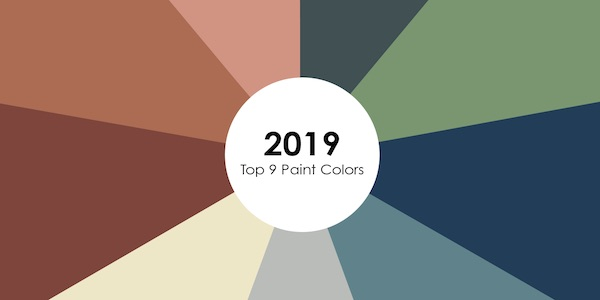 Top 9 Paint Colors to Look Out for in 2019