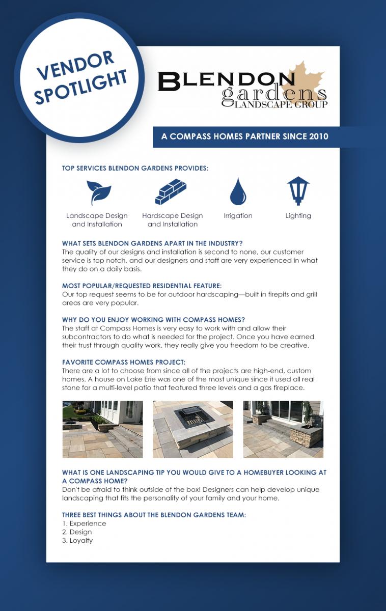 Blendon Gardens infographic.