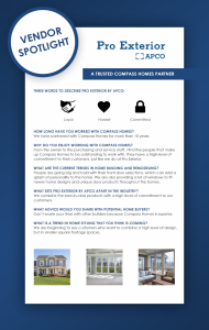 Pro Exterior by APCO infographic.