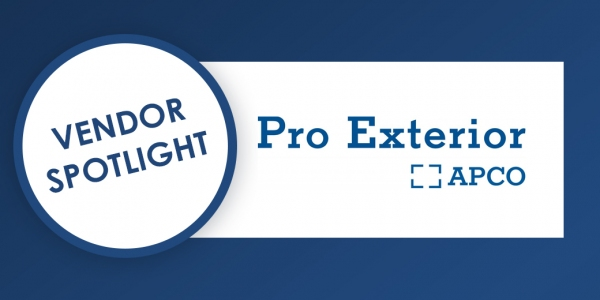 Vendor Spotlight: Pro Exterior by APCO