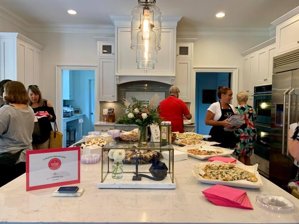 Kitchen Kapers 2019 in progress.