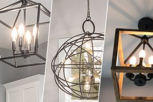 Home light fixture examples.