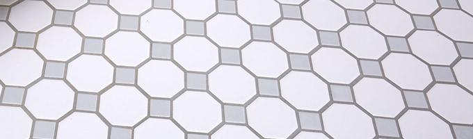 Tile flooring options.